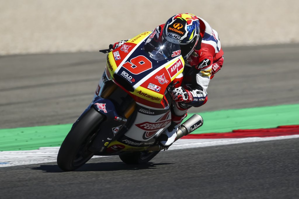 Jorge Navarro Start Dari Row Ketiga di Moto2 Belanda