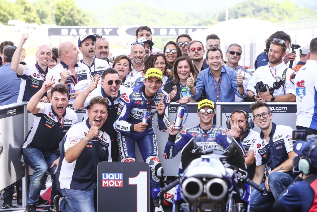 Moto3 Mugello 2018, Skuad Federal Oil Dominasi Podium