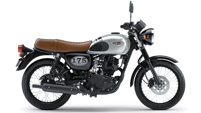 Kawasaki W175, Motor Modern Bergaya Klasik