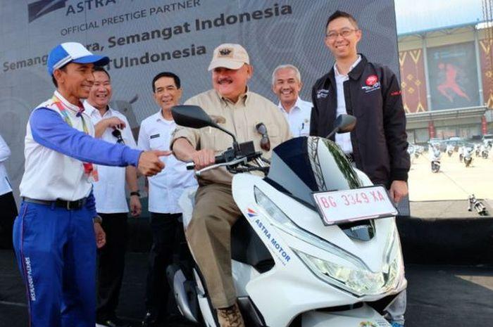 50 Motor Ini Akan Menjadi Sepeda Motor Official di Asian Games 2018