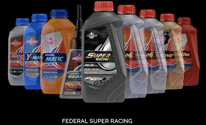 Federal Super Racing, Oli Motor Performa Tinggi