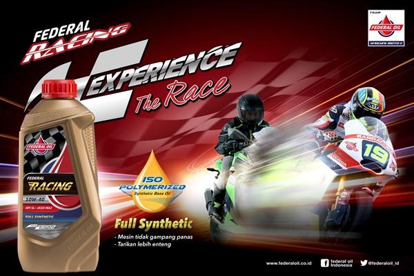 Federal Racing, Oli Motor Modern Mengandung Teknologi Canggih