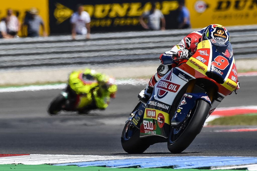 Moto2 Belanda, Jorge Navarro Kembali Menuai Poin Kelasemen