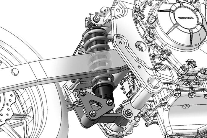 Mengenal Teknologi Pro-Link Suspension Pada Motor Honda