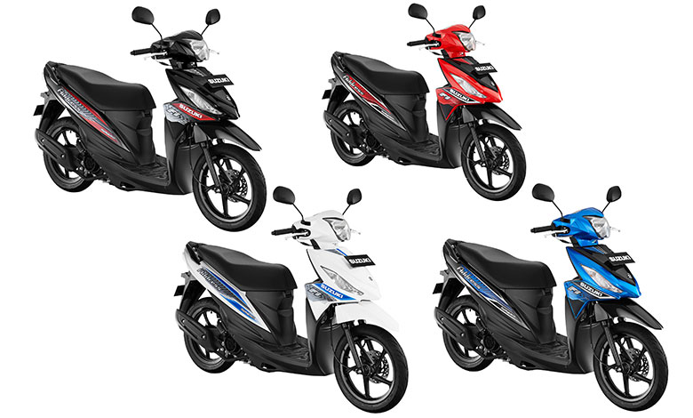 Suzuki Address Dirilis Dengan Warna Baru
