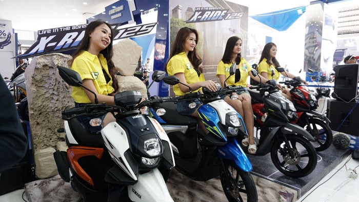 Intip Teknologi Motor All New Yamaha X-Ride 125