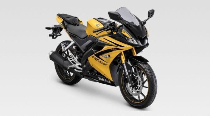 Yamaha YZF-R15, Tampilan Warna Barunya Keren Banget