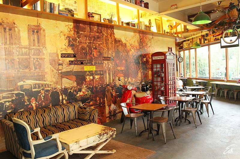 Blumchen Coffee Tempat Ngopi Bergaya Vintage di Tengah Kota