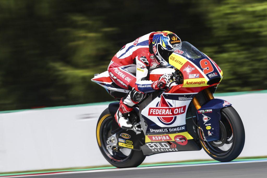 Kualifikasi Moto2 Ceko, Jorge Navarro Posisi Ke-11