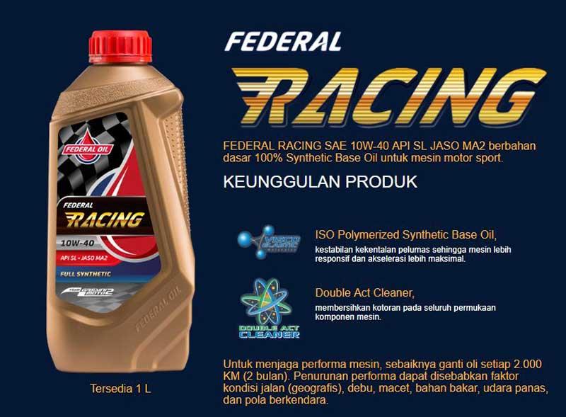 Lindungi Mesin Motor Sportmu Dengan Federal Racing