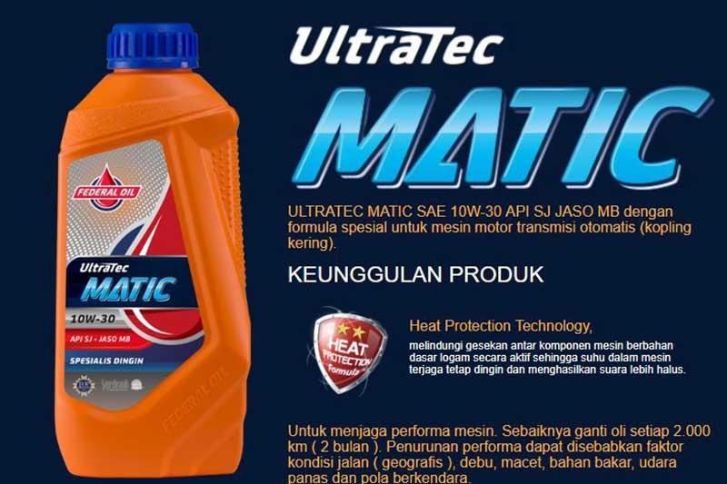 Pakai Motor Matik Lebih Dari 5 Tahun, Pakai Federal Ultratec Matic