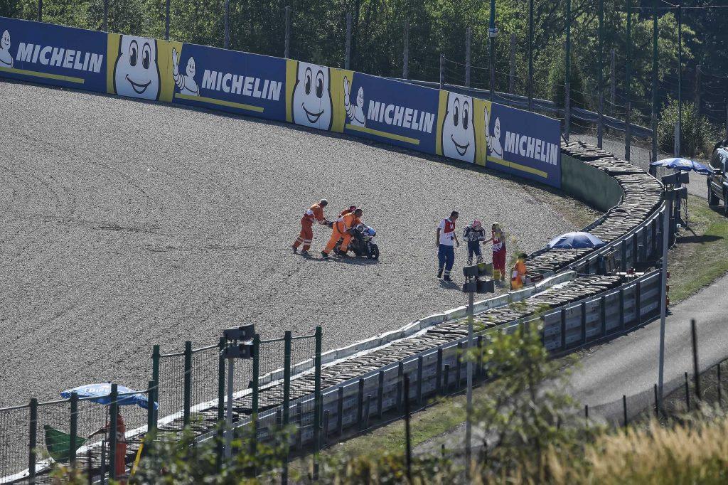 Sesi Latihan Moto3 Ceko, Jorge Martin Crash, Fabio Melesat