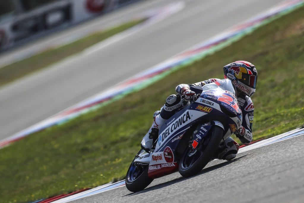 Kualifikasi Moto3 Ceko, Fabio Start Ke-5, Martin Absen