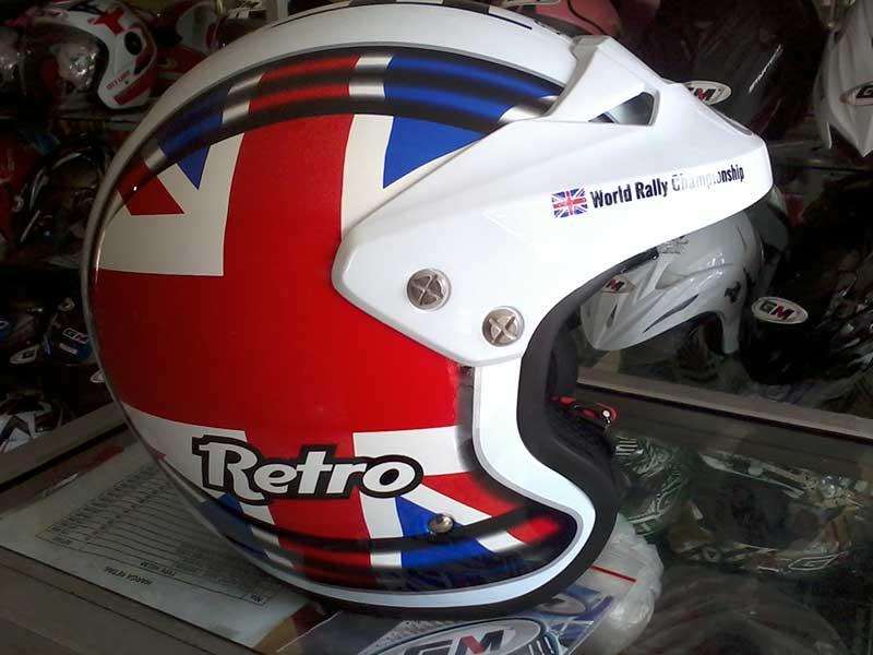 Helm GM Retro Cocok Buat Bikers Pecinta Motor Klasik