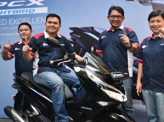 Harga Honda PCX Hybrid di Bandung Rp 40,4 Juta