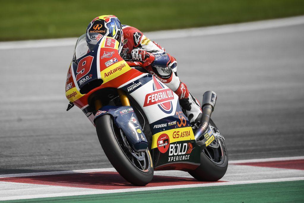 Hari Pertama Moto2 Austria, Jorge Navarro Torehkan Hasil Positif