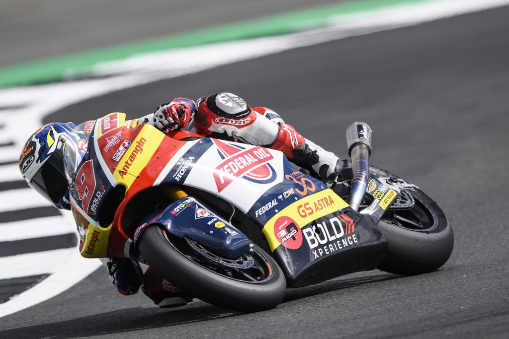Kualifikasi Moto2 Silverstone, Jorge Navarro Alami Kendala