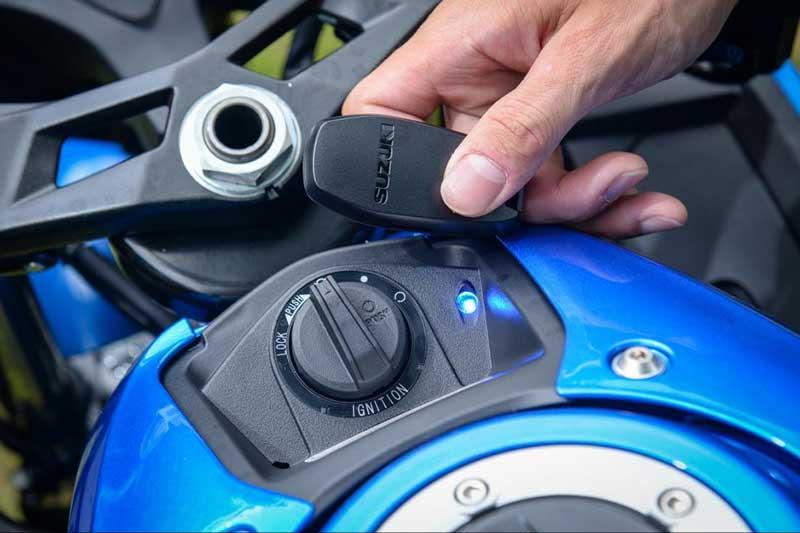 Pakai Teknologi Keyless Motor Susah Dicuri