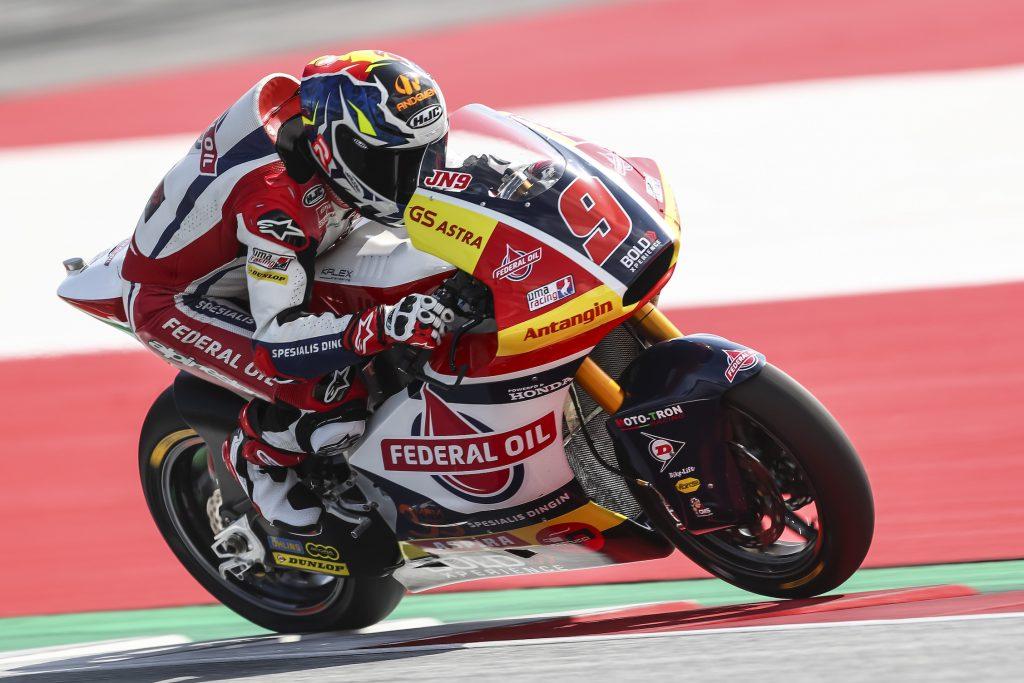 Jorge Navarro Nyaris Start Dari Front Row di Moto2 Austria