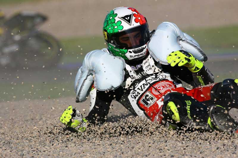 Mengenal Fitur Airbag Pada Baju Balap MotoGP