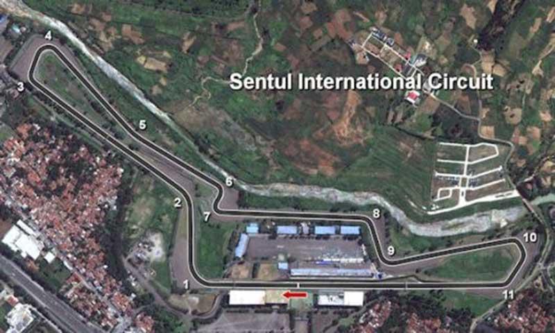 Ternyata MotoGP Pernah Diadakan di Sirkuit Sentul
