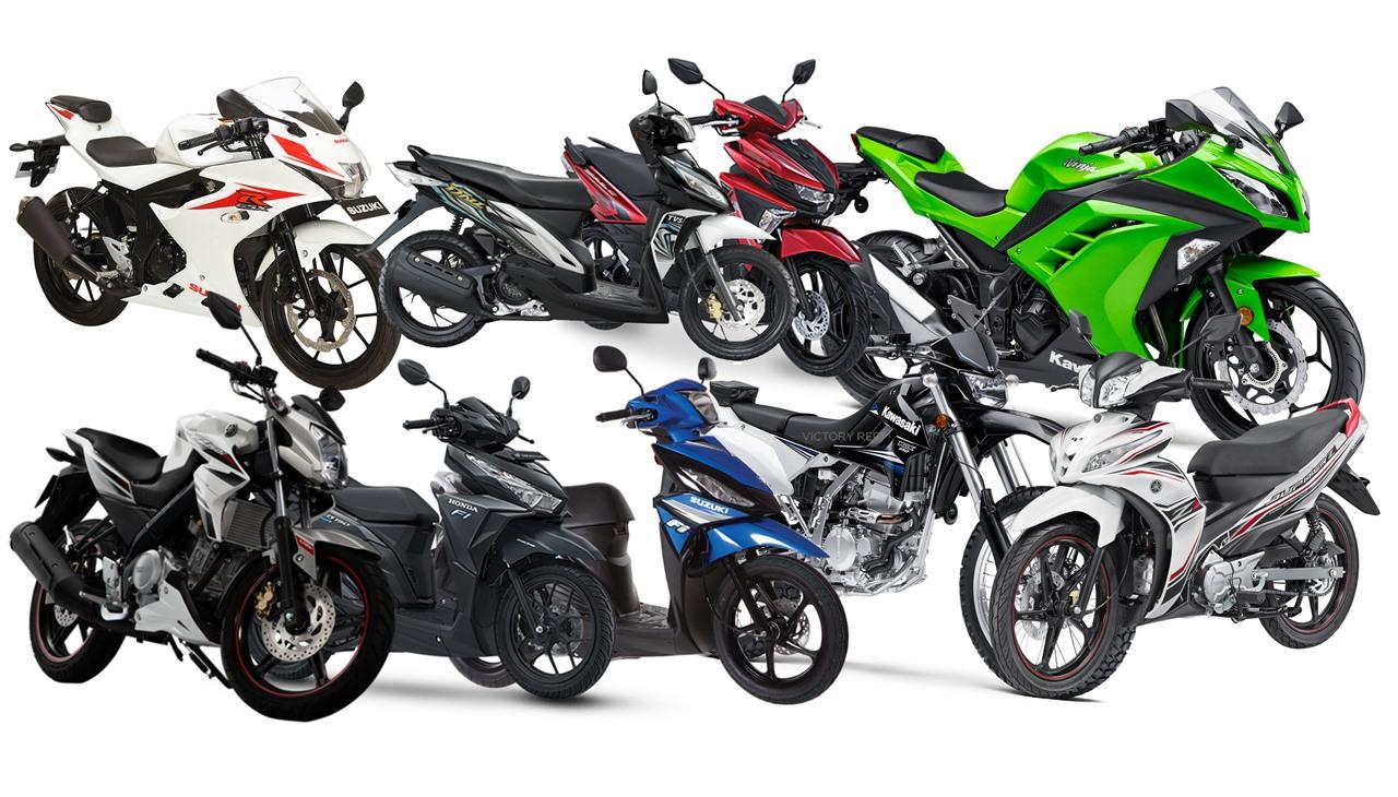 Ada 400 Ribu Motor Dari Indonesia di Luar Negeri