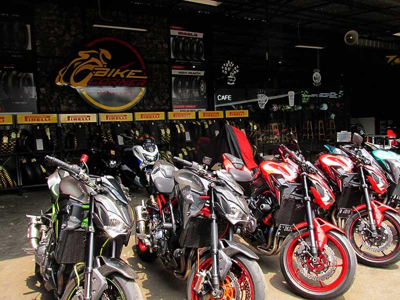 Kongkow di Bike Corner, Bisa Sekaligus Servis Motor