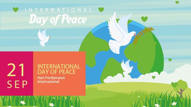Tahukah Kamu 21 September Sebagai Hari Perdamaian Internasional