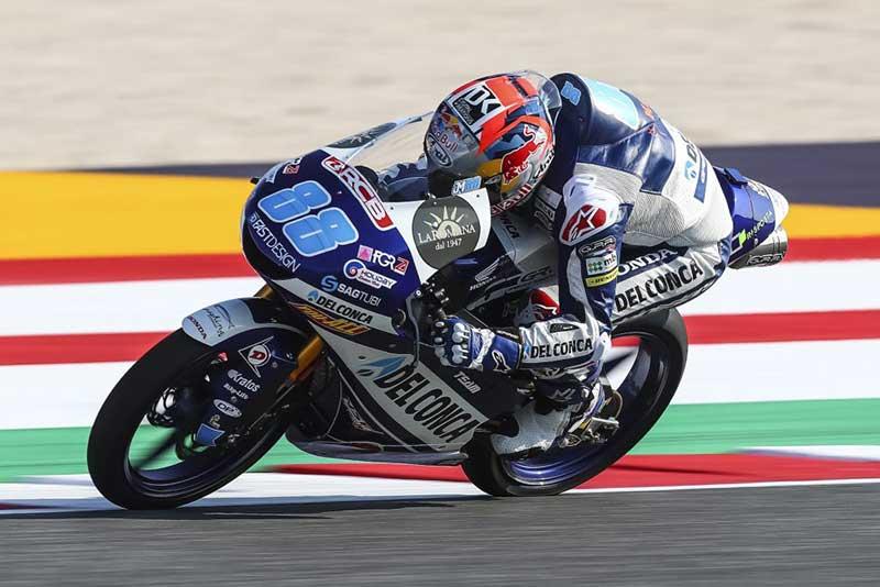 Jorge Martin Pimpin Kelasmen Moto3 2018
