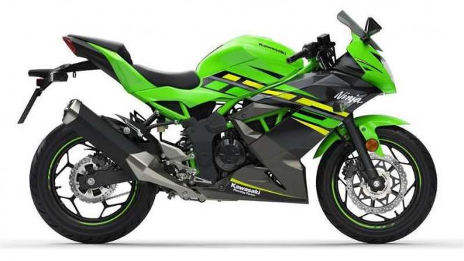 Kawasaki Segera Luncurkan Ninja 125cc
