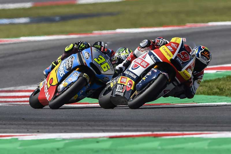 Navarro Akhiri Balapan Moto2 Misano Dengan Hasil Positif
