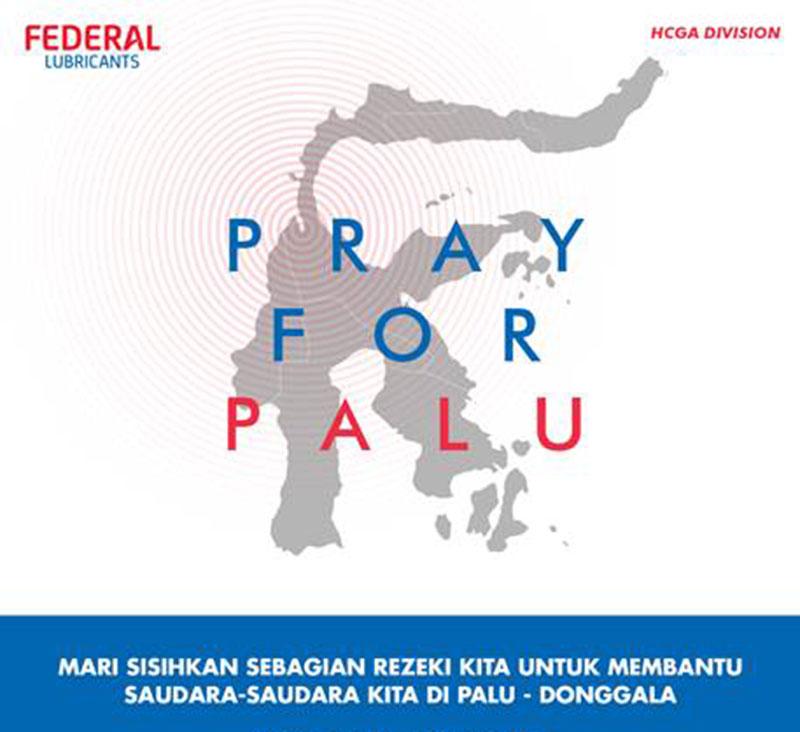 Federal Lubricants Peduli Gempa & Tsunami Palu - Donggala