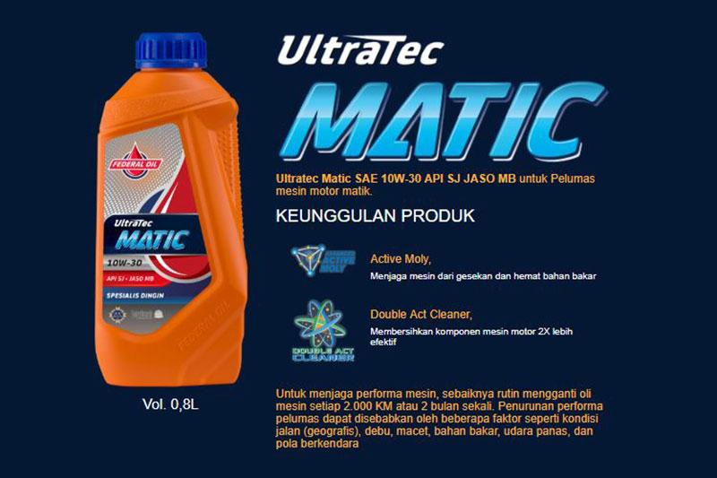 Lindungi Mesin Motor Matikmu Dengan Federal Matic Ultratec