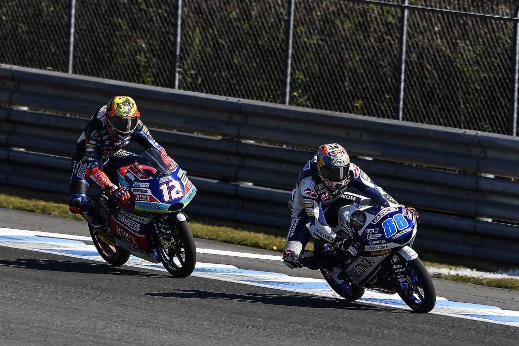 Jorge Marin Masih Unggul di Kelasmen Moto3 2018