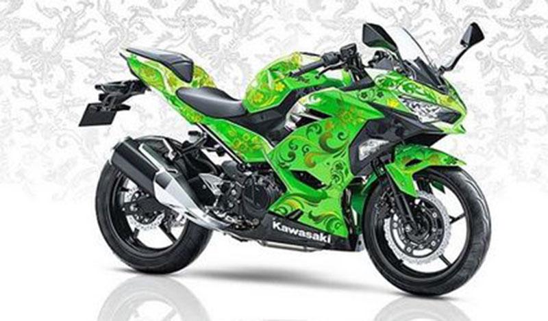 Peringati Hari Batik Nasional, Kawasaki Ninja 250 Berbaju Batik