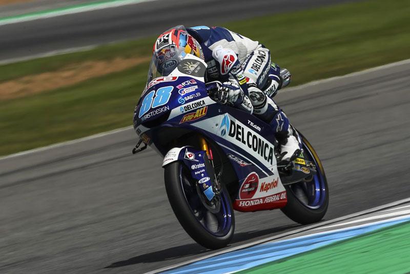 Menahan Nyeri Pada Tangan Kiri, Jorge Martin Akan Berjuang Keras di Moto3 Thailand