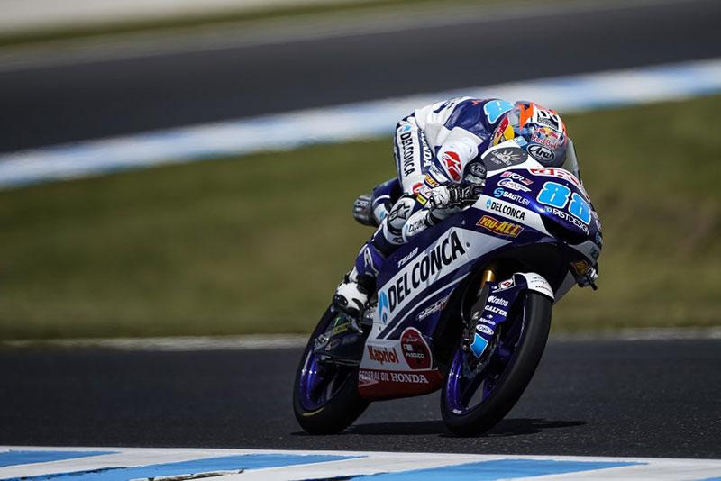 Hari Pertama Latihan Moto3 Australia, Jorge Martin Bisa Tersenyum