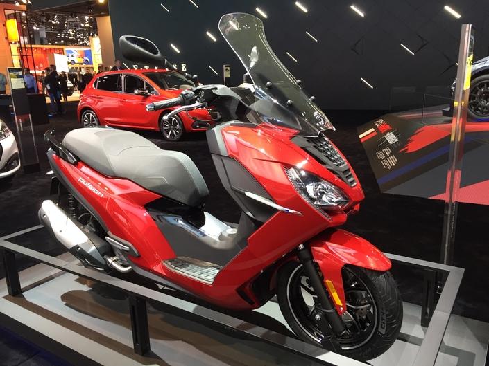 Peugeot Pulsion 125 Penantang Yamaha Lexi