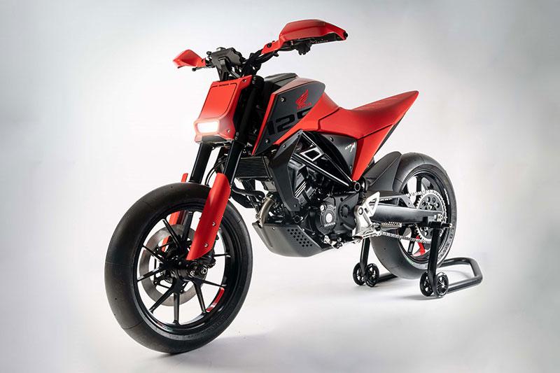 Motor Konsep Honda CB125M Bikin Ngiler