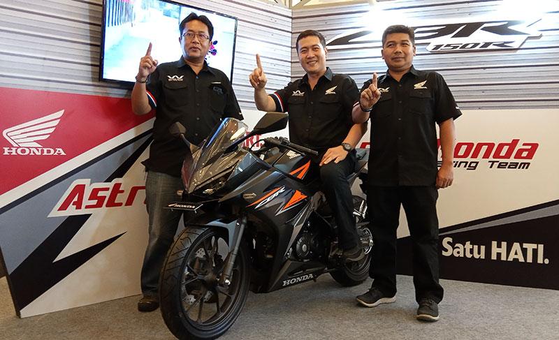 New Honda CBR150R Sapa Warga Jakarta Berapa Harganya ?
