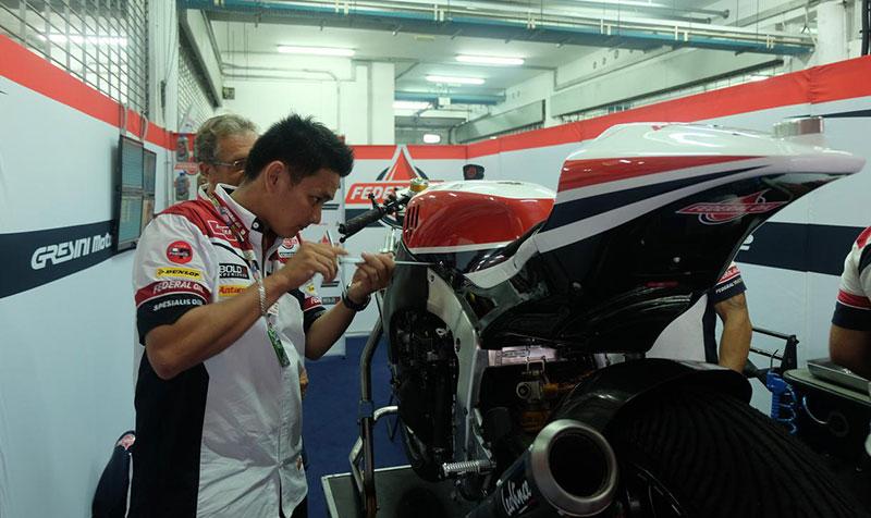 Pengalaman Tony Jadi Mekanik Tim Federal Oil Gresini Moto2