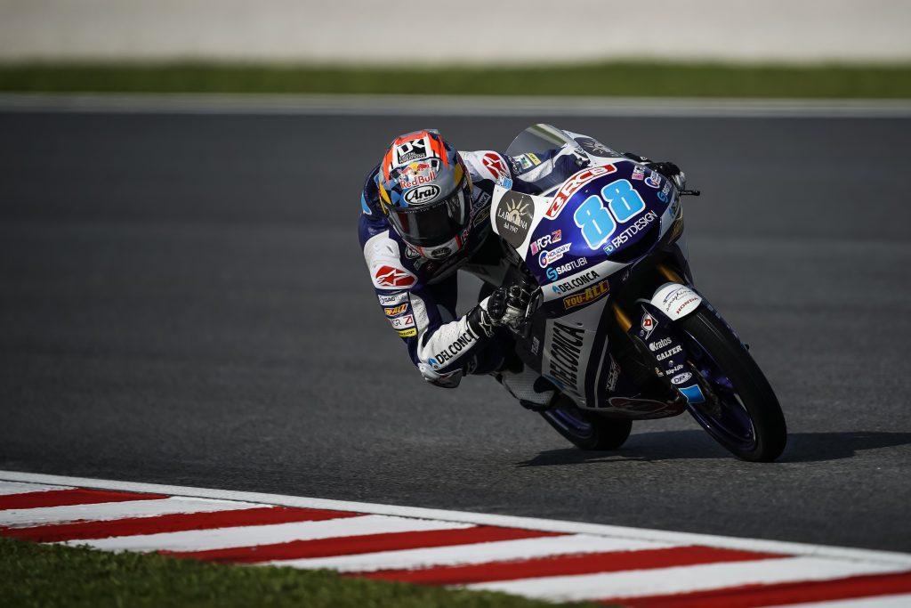 FP2 Moto3 Malaysia, Kecepatan Jorge Martin Meningkat