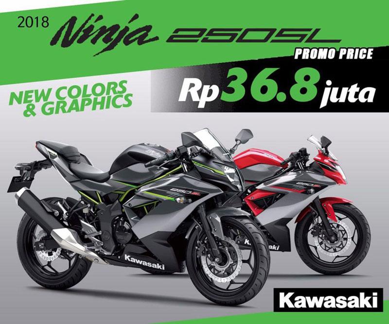 Buruan Kawasaki Ninja 250SL Promo Sampai Akhir Tahun