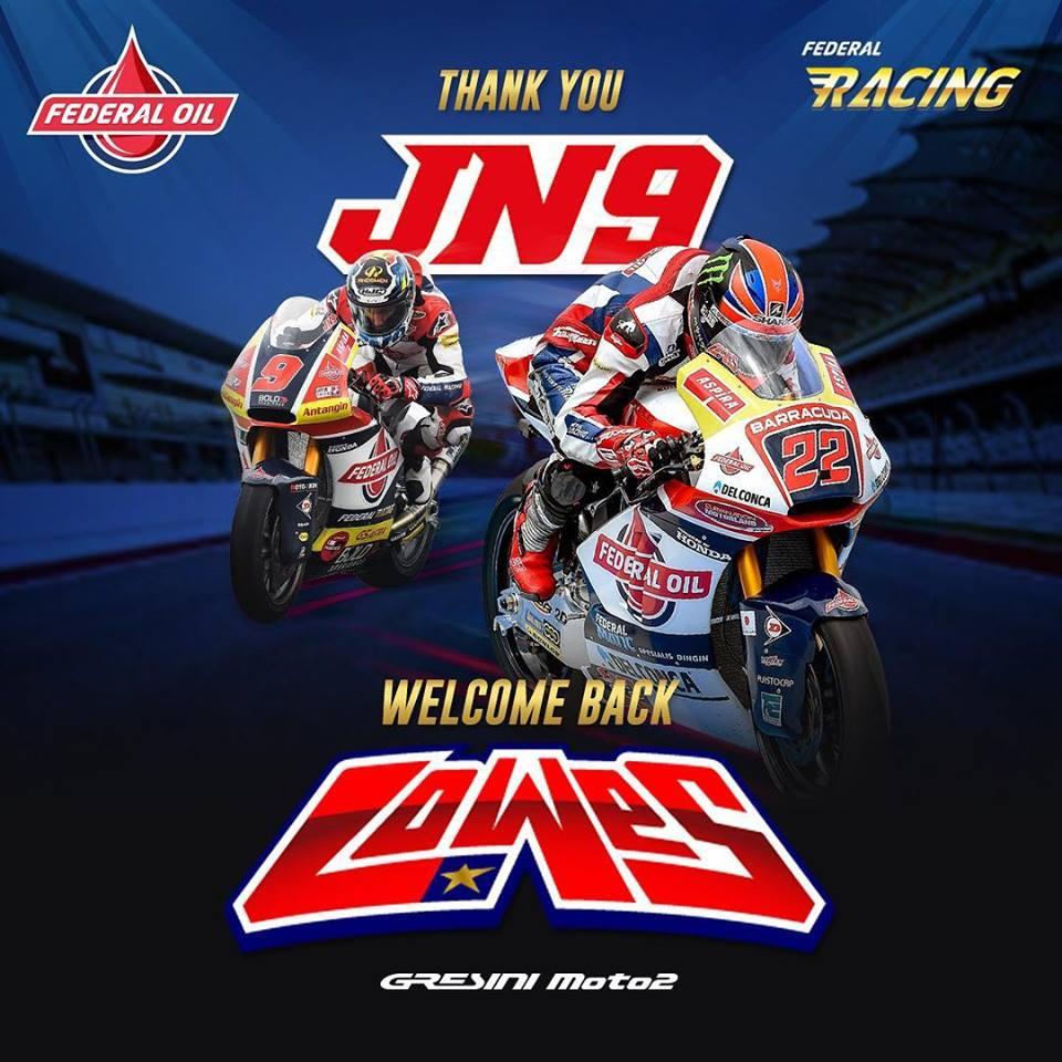 Terimakasih Jorge Navarro, Selamat Datang Kembali Sam Lowes