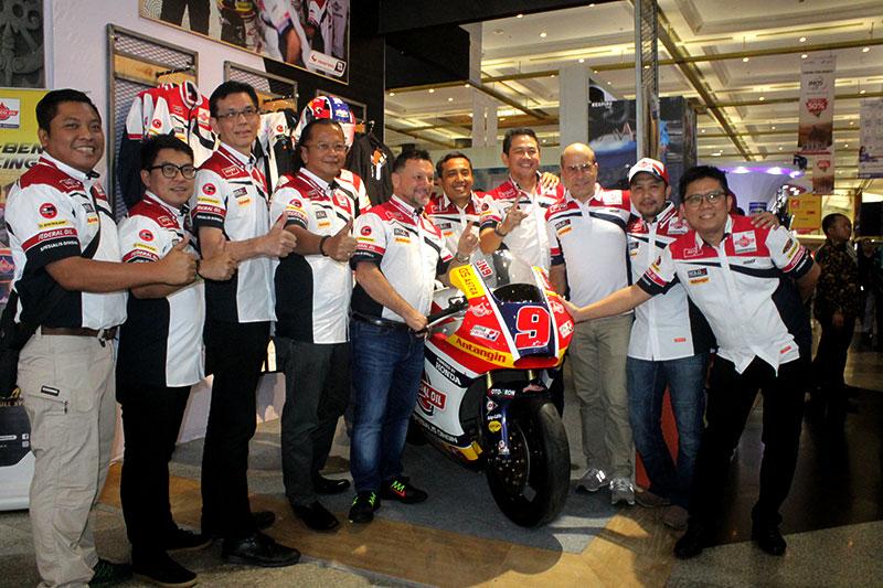 Tim Federal Oil Gresini Moto2 Berkunjung ke IMOS 2018