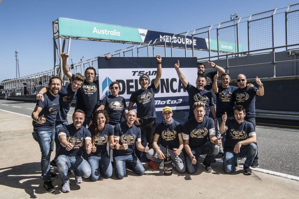 Tim Del Conca Gresini Moto3 Juara Tim 2018
