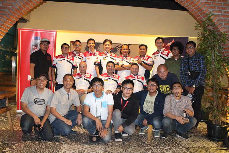 Jalin Silaturahmi, Federal Oil  Dan Gresini Racing Kunjungi Forwot