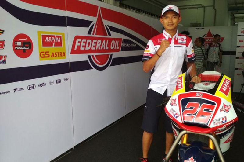 Dimas Ekky Bakal Balapan di Moto2 2019 Full Seri