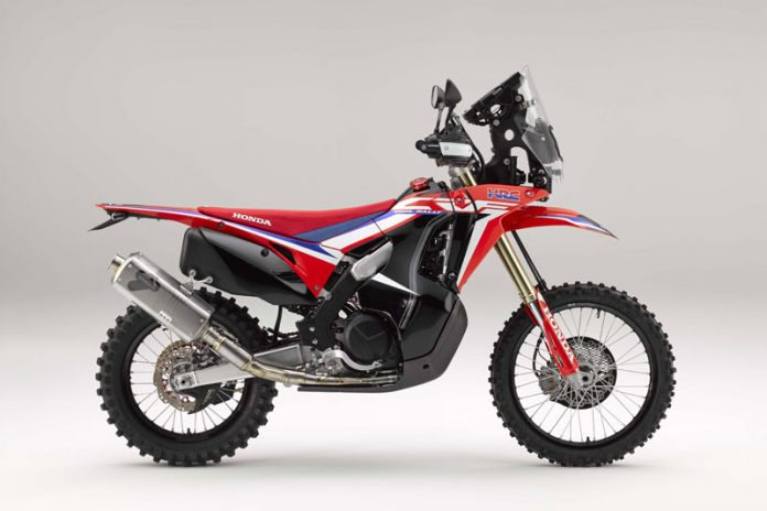 Konsep Honda CRF450L Rally Calon Motor Off-Road Baru Honda