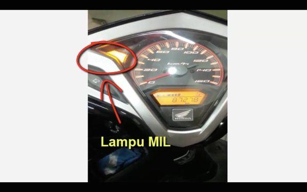 Lampu MIL Motor Honda Anda Nyala Terus ? Yuk Cari Tahu Masalahnya